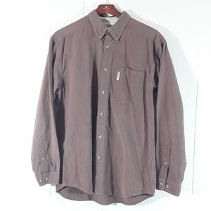 Columbia mens buttonup longsleeved large shirt